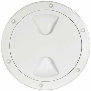 Osculati Inspection Hatch Screw Lock White 102mm