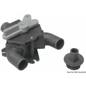 Osculati Trojcestný ventil toalety 25/38mm