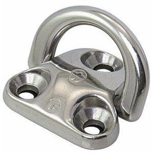 Wichard Pad Eye Stainless Steel - Folding 6 mm