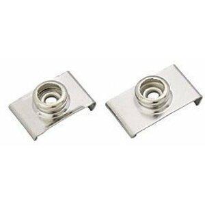 DOT Fasteners Durable Windshield Clip Nickel