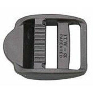 Lindemann PVC přezka na popruh 25mm černá