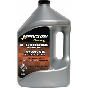 Quicksilver Racing 4-Stroke Marine Oil Synthetic Blend 25W-50 4L