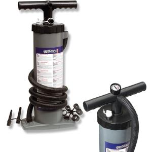 Bravo 6 M Double Action vzduchová pumpa s tlakomeromm