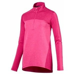 Puma Evoknit Seamless 1/4 Zip Womens Sweater Carmine Rose L