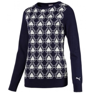 Puma Dassler Womens Sweater Peacoat M