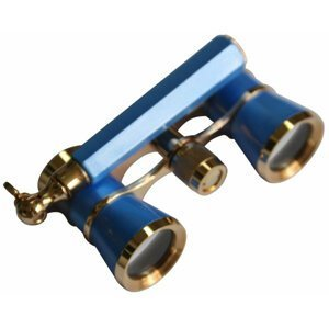 Levenhuk Broadway 325L Blue Wave Lorgnette Opera Glasses