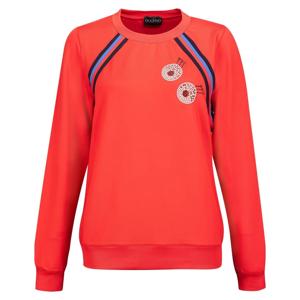 Golfino Retro Sport Round Neck Womens Sweater Scarlet 36