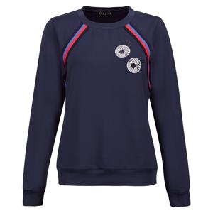 Golfino Retro Sport Round Neck Womens Sweater Midnight 40