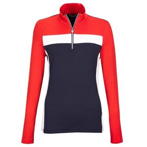 Golfino Performance Trend 1 Troyer Womens Sweater Seven Seas 36