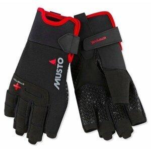 Musto Performance Short Finger Glove Black M jachtařské rukavice