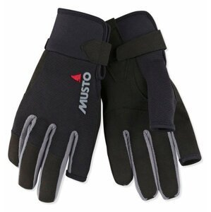 Musto Essential Sailing Long Finger Glove Black S jachtařské rukavice