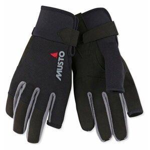 Musto Essential Sailing Long Finger Glove Black M jachtařské rukavice
