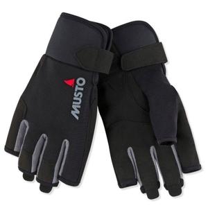 Musto Essential Sailing Short Finger Glove Black L jachtařské rukavice