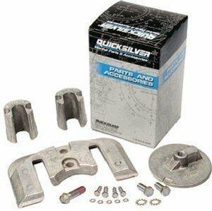 Quicksilver 97-888761Q03 Sada anod Mercruiser Bravo 2/3 - hliník