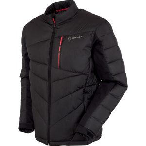 Sunice Forbes Thermal Mens Jacket Black/Scarlet Flame M