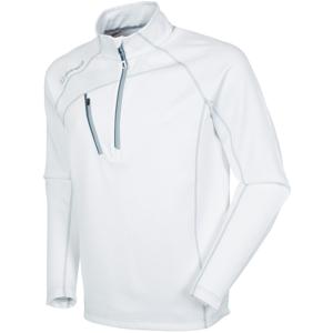 Sunice Alexander Thermal Zip Mens Sweater Pure White/Black L