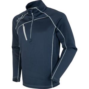 Sunice Alexander Thermal Zip Mens Sweater Midnight/Pure White XL
