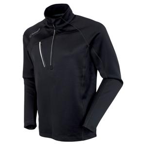 Sunice Alexander Thermal Zip Mens Sweater Black/Pure White XL