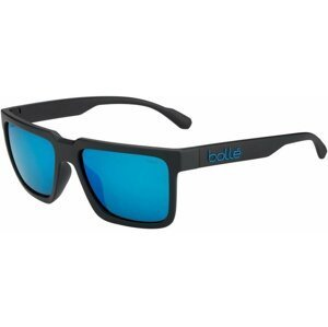 Bollé Frank Matte Black HD Polarized Offshore Blue
