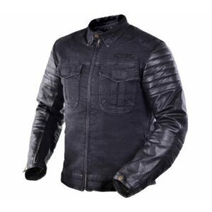 Trilobite 964 Acid Scrambler Denim Jacket Black 4XL