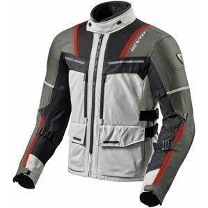 Rev'it! Jacket Offtrack Silver/Red XL