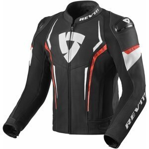 Rev'it! Jacket Glide Black/Neon Red 50