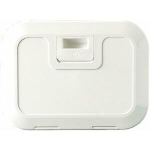 Osculati White Locker W/Lid 280 x 180 mm C-front