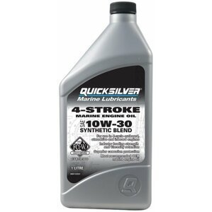 Quicksilver FourStroke Outboard Engine Oil - Synthetic Blend 10W30 1L