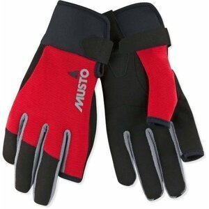 Musto Essential Sailing Long Finger Glove True Red L