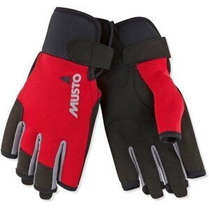 Musto Essential Sailing Short Finger Glove True Red XL