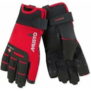 Musto Performance Short Finger Glove True Red XL
