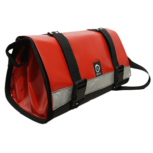 Outils Océans Tools bag 38 x 15 x 15 cm red