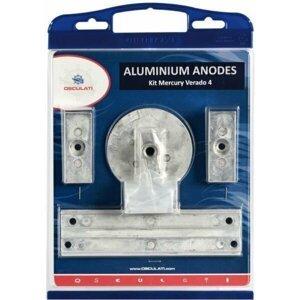 Osculati Anode Kit for Mercury 4-pcs aluminium