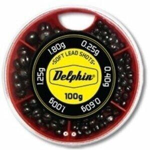 Delphin Vyvažovací olůvka SOFT 100g/0,25-1,8g