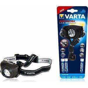 Varta Indestructible 5x5mm LED Head Ligth 3xAAA Čelovka