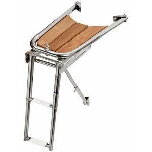 Osculati Dolphin Striker AISI316 with 2 Step Ladder