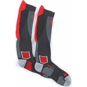 Dainese D-Core Mid Sock Black/Red M