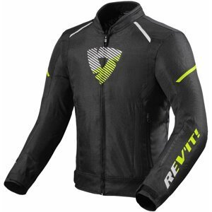 Rev'it! Jacket Sprint H2O Black/Neon Yellow L