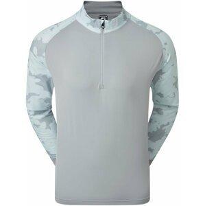 Footjoy Camo Floral Half Zip Midlayer Mens Grey XL