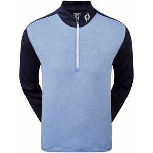 Footjoy Heather Clr Block Chill-Out Mens Navy/Heather Lagoon L