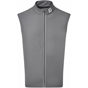 Footjoy Full Zip Knit Vest Mens Coal L