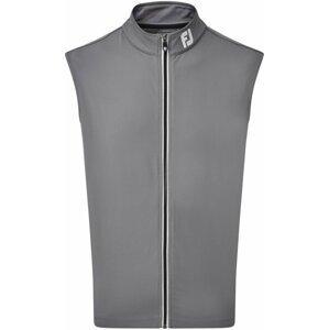 Footjoy Full Zip Knit Vest Mens Coal S