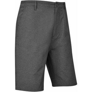 Footjoy Broken Stripe Woven Mens Shorts Black 36