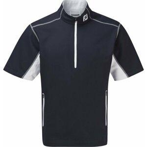 Footjoy Half-Zip Short Sleeve Windshirt Mens Jacket Navy/White M