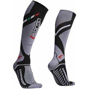 Forma Boots Road Compression Socks Black/Grey 39/42