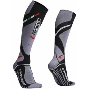 Forma Boots Road Compression Socks Black/Grey 43/46