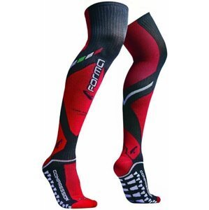 Forma Boots Off-Road Compression Socks Long Black/Red 39/42