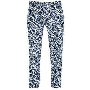 Alberto Earnie Waterrepellent Revolutional Flowers Mens Shorts Blue Fantasy 50
