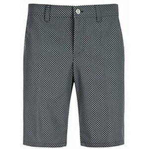 Alberto Earnie Waterrepellent Revolutional Smart Check Mens Shorts Black Check 46