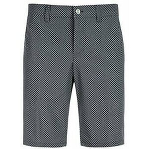 Alberto Earnie Waterrepellent Revolutional Smart Check Mens Shorts Black Check 52
